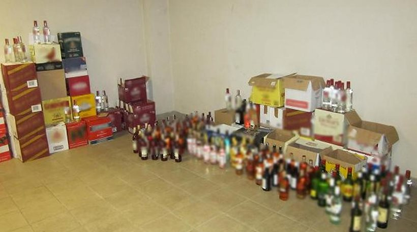 Εισαγωγή αλκοολούχων από τη γειτονική Βουλγαρία άγνωστης προέλευσης