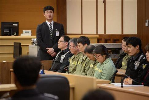 Σε κάθειρξη 36 ετών καταδικάστηκε ο καπετάνιος του Sewol