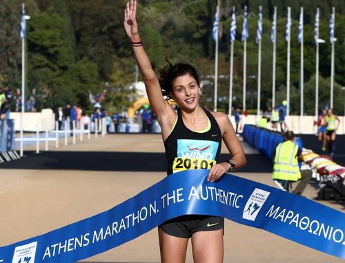 Η Βολιώτισσα Καρακατσάνη πρώτη στα 10 χλμ.