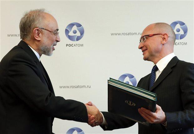 Συμφωνία Ρωσίας-Ιράν για την κατασκευή δύο πυρηνικών μονάδων