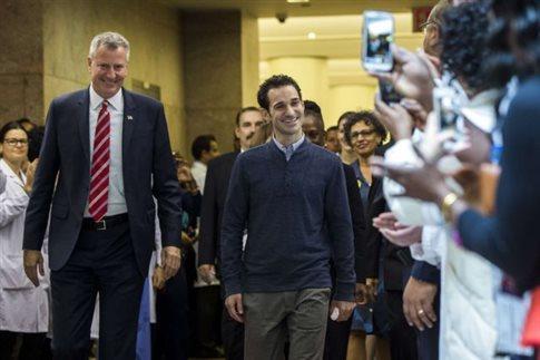 Εξιτήριο έλαβε ο τελευταίος ασθενής με Έμπολα στις ΗΠΑ