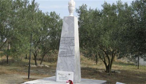 Το ΚΚΕ καταγγέλλει τον βανδαλισμό μνημείου από χρυσαυγίτες