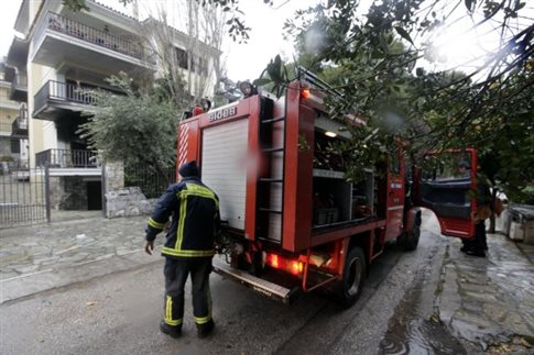 Νεκρή ηλικιωμένη από φωτιά που ξέσπασε στο σπίτι της στη Νάουσα