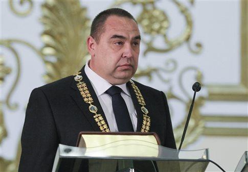 Ο αρχηγός των φιλορώσων στο Λουγκάνσκ καλεί τον Ποροσένκο σε... μονομαχία