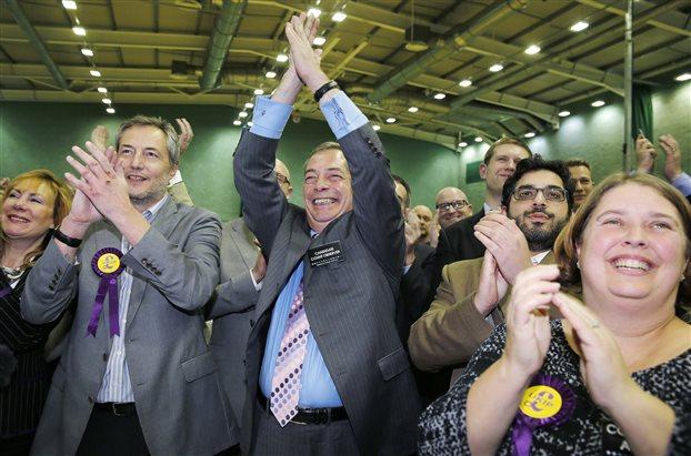 Νέα βουλευτική έδρα κέρδισε στο Λονδίνο το αντιευρωπαϊκό UKIP