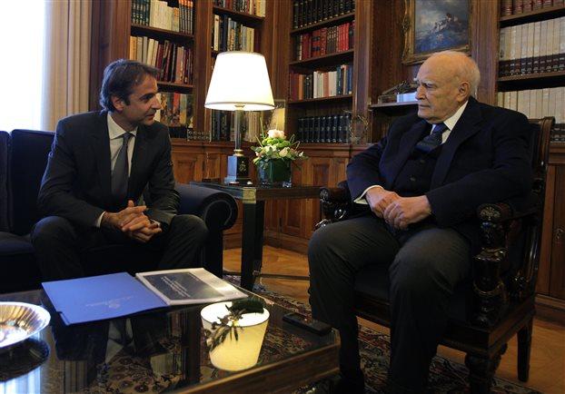 Κ. Παπούλιας: Ο Κ. Μητσοτάκης έχει την απόλυτη στήριξή μου