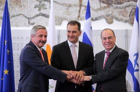 Τριμερής συνάντηση Ελλάδας - Κύπρου - Αιγύπτου για την ενέργεια