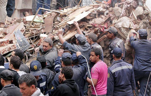 Κάιρο: Κατάρρευση πολυκατοικίας με 10 νεκρούς