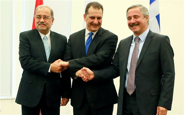 Κοινή διακήρυξη Ελλάδας-Κύπρου-Αιγύπτου για τους υδρογονάνθρακες