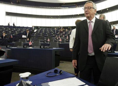 Καταψηφίστηκε στην Ευρωβουλή η πρόταση μομφής κατά του Γιούνκερ