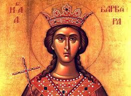 Εορτή της Αγίας Βαρβάρας και του Οσίου Ιωάννου του Δαμασκηνού