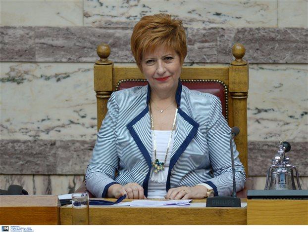 Μαρία Κόλλια-Τσαρουχά: Δεν ψηφίζω κανέναν για Πρόεδρο της Δημοκρατίας