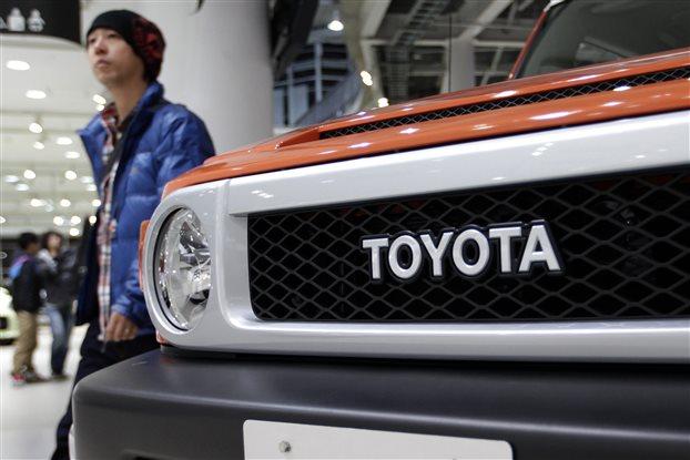 Ανάκληση 190.000 οχημάτων από την Toyota σε Ιαπωνία-Κίνα