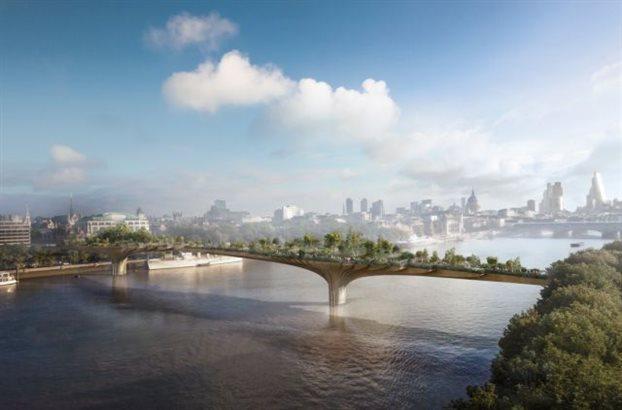 Η «κηπογέφυρα» του Λονδίνου θα γίνει πραγματικότητα
