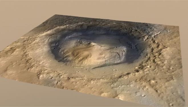 NASA: Στον βυθό αρχαίας λίμνης του Αρη βρίσκεται το ρομπότ Curiosity