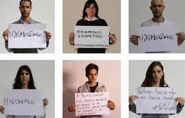 Μεξικό: Οι πολίτες δηλώνουν «#κουράστηκα»