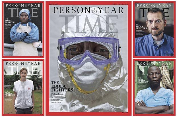 Time: Οι μαχητές κατά του Εμπολα είναι το «πρόσωπο της χρονιάς»