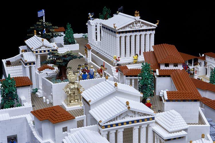 Η Ακρόπολη φτιαγμένη με Lego στο Μουσείο της Ακρόπολης