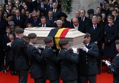 Κηδεύτηκε η βασίλισσα Φαμπιόλα του Βελγίου