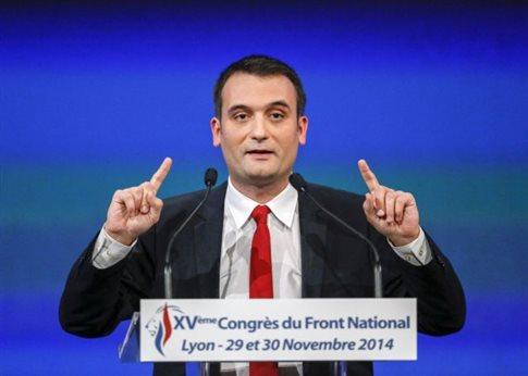 Γαλλία: Αμηχανία στο Εθνικό Μέτωπο προκαλεί η φήμη ότι ο Νο2 είναι γκέι