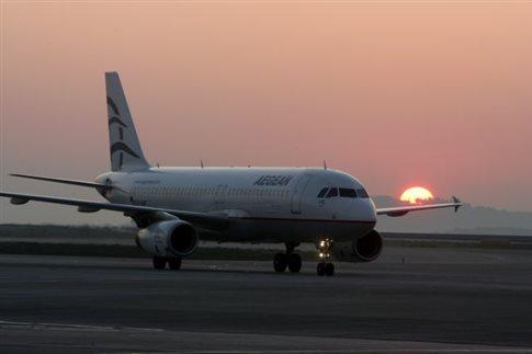 Ακυρώνονται οι πτήσεις της Aegean από/προς τις Βρυξέλλες