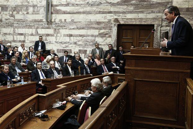 WSJ: Πόλωση μέσω του φόβου επιχειρεί ο Αντώνης Σαμαράς