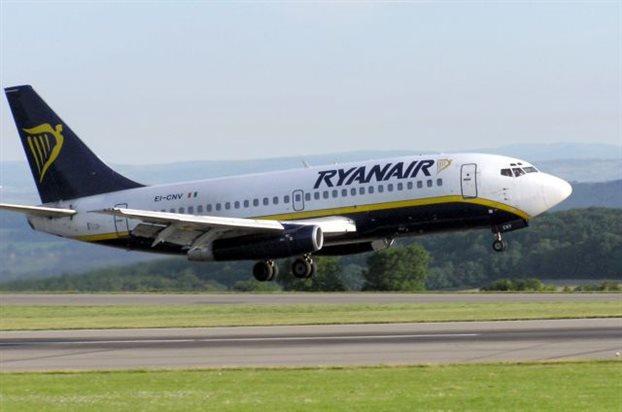 Και στη Σαντορίνη η Ryanair απο τον Απρίλιο