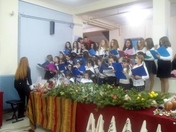 Πλήθος κόσμου στη φιλανθρωπική εκδήλωση του Γυμνασίου Ευξεινούπολης