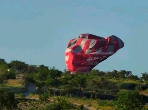 Ενας τουρίστας νεκρός από πτώση αερόστατου στην Τουρκία