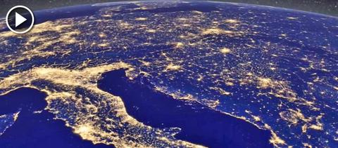H NASA βλέπει τα φώτα των Χριστουγέννων από ψηλά