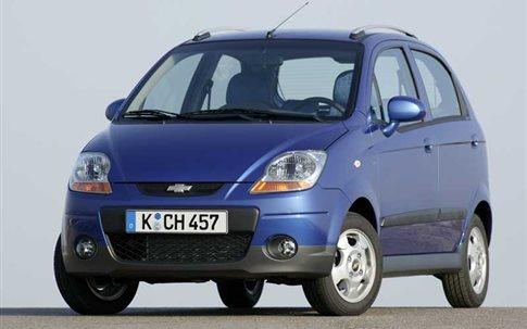 Ανάκληση για 289 Chevrolet Matiz στην ελληνική αγορά