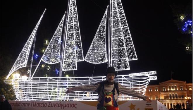 Πώς θα γιορτάσει η Αθήνα την παραμονή των Χριστουγέννων