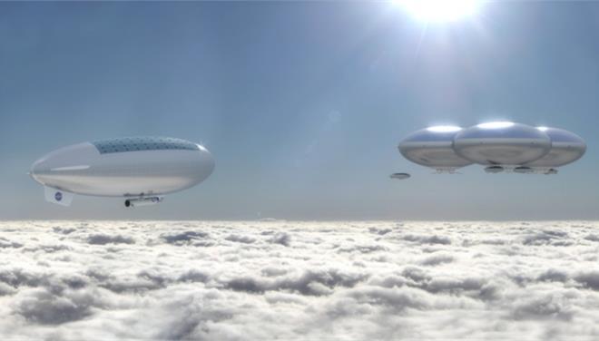 Η NASA σχεδιάζει να κατασκευάσει μια «Ιπτάμενη Πολιτεία»