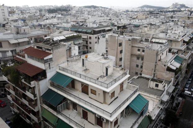 Στάσιμη η ελληνική αγορά ακινήτων