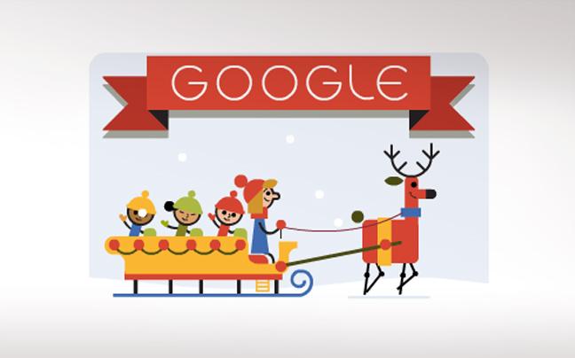 Η Google σάς εύχεται καλές γιορτές