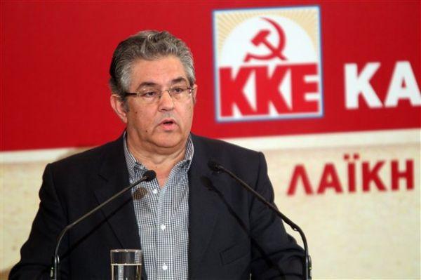 Κουτσούμπας: Οχι στους εκβιασμούς κυβέρνησης - αντιπολίτευσης