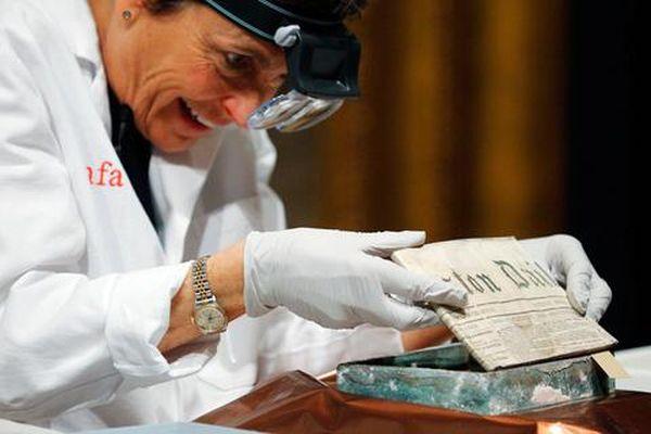 Ανοιξαν «χρονοκάψουλα» 220 ετών στη Μασαχουσέτη
