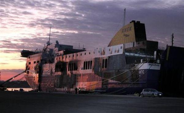 Σκέψεις να «κρυώσει» το εσωτερικό του «Norman Atlantic» με υγρό άζωτο