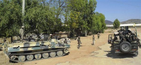 Σε εξέλιξη στρατιωτική επιχείρηση κατά της Μπόκο Χαράμ