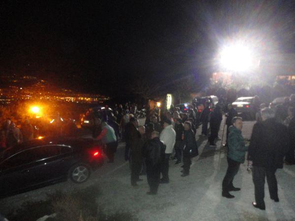 Φάρσα για βόμβα αναστάτωσε την εκδήλωση της Χ.Α. στο Διμήνι