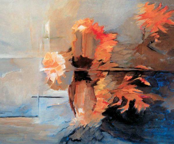 Η ζωγράφος Αλίκη Δεβλέτογλου