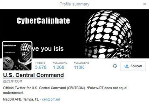 Χάκερς του χαλιφάτου χτύπησαν το Twitter του Γενικού Επιτελείου των ΗΠΑ