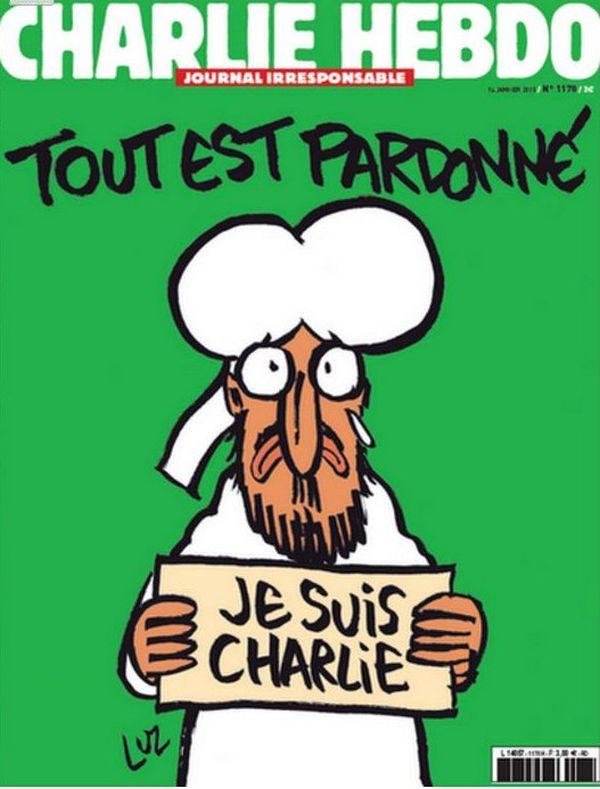 Δακρυσμένος Μωάμεθ στο Charlie Hebdo