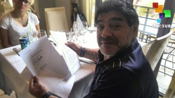 Με επιστολή στον Μαραντόνα ο Κάστρο διαψεύδει τα περί θανάτου του