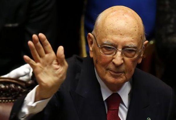 «Addio» την Τετάρτη από τον πρόεδρο της Ιταλίας Τζόρτζιο Ναπολιτάνο