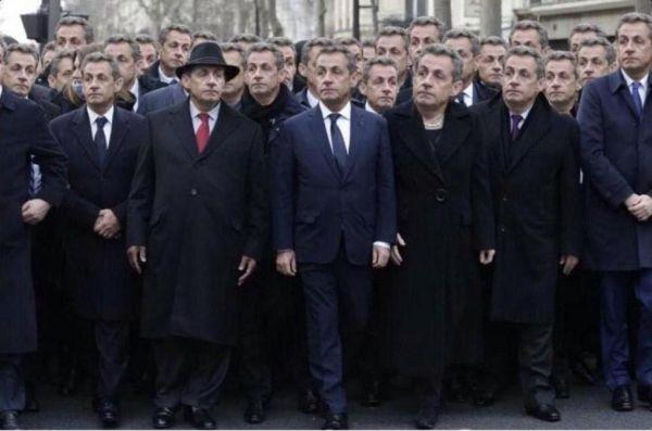 Το απίστευτο τρολάρισμα του Σαρκοζί μετά την πορεία στο Παρίσι