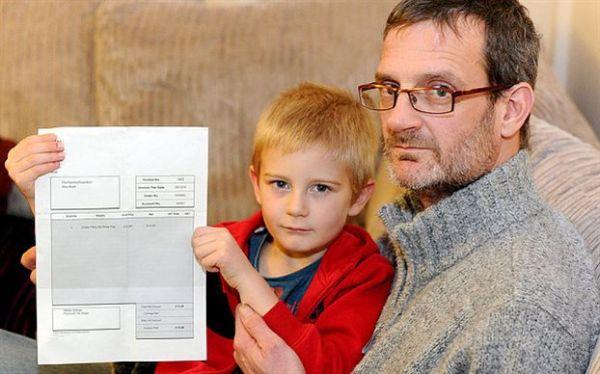 Πεντάχρονος δεν πήγε σε πάρτι και του ζητούν να πληρώσει