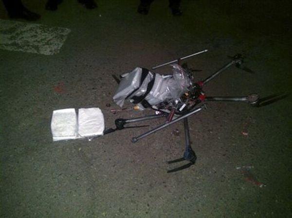 Drone με ναρκωτικά κατέπεσε σε... πάρκινγκ σούπερμαρκετ στο Μεξικό