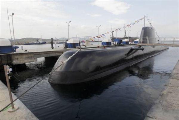 Καθελκύεται το δεύτερο υποβρύχιο τύπου 214 ΜΑΤΡΩΖΟΣ