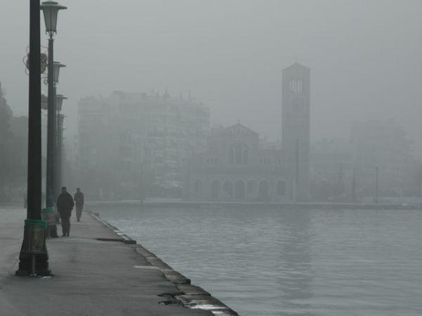 «Χάθηκε» στην ομίχλη ο Βόλος